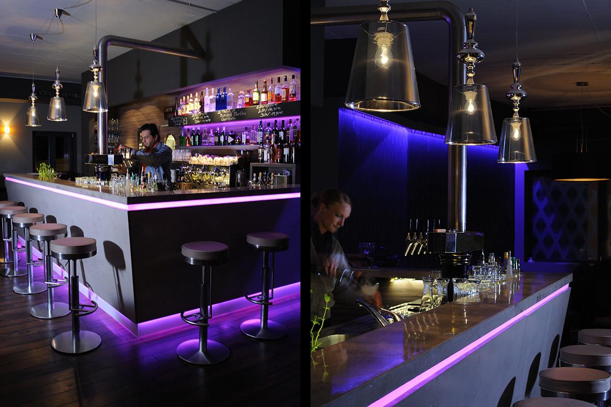 café lounge bar | NeoTempo Interior Design